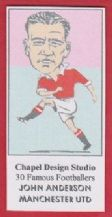Manchester United John Anderson